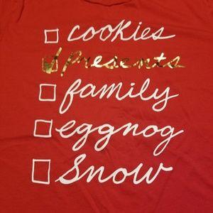 Holiday tshirt